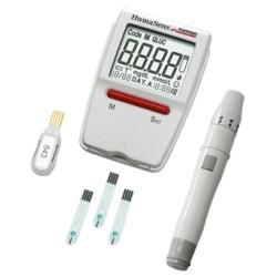 HumaSens Plus holesterīna,glikozes,urīnskābes noteikšanas mērītājs