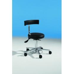 Krēsls ar atzveltni un kājas regulāciju